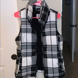 Cotton puff vest